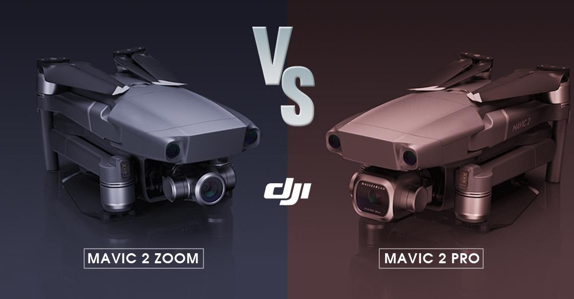DJI Mavic 2 Pro vs DJI Mavic 2 Zoom: wat is de beste keus?