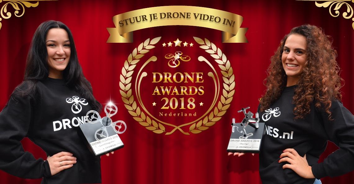 Stuur nu je dronevideo in voor de Drone Awards 2018!