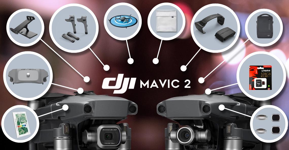 De 10 beste accessoires voor de DJI Mavic 2