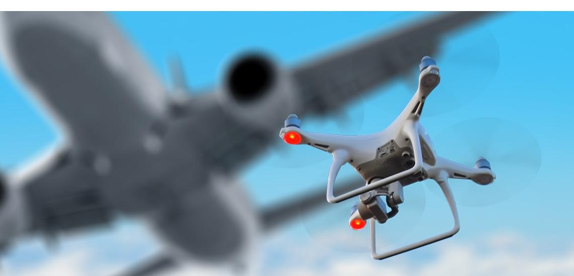 Drone op Australisch vliegveld botst bijna met vliegtuig