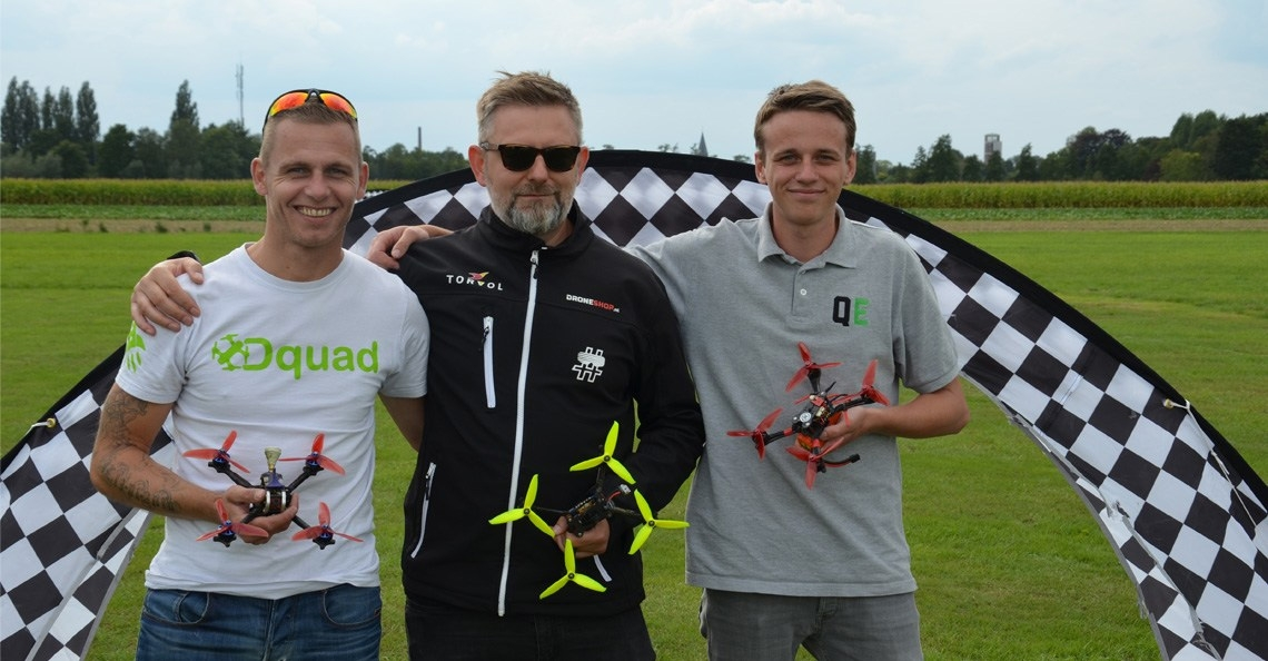 Team Holland naar Shenzhen voor FAI World Drone Racing Championships 2018