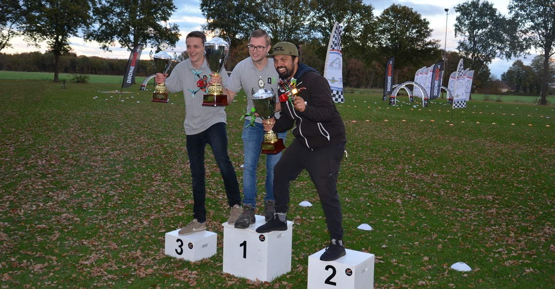 Niels Meerdink is Nederlands Kampioen Drone Race 2018