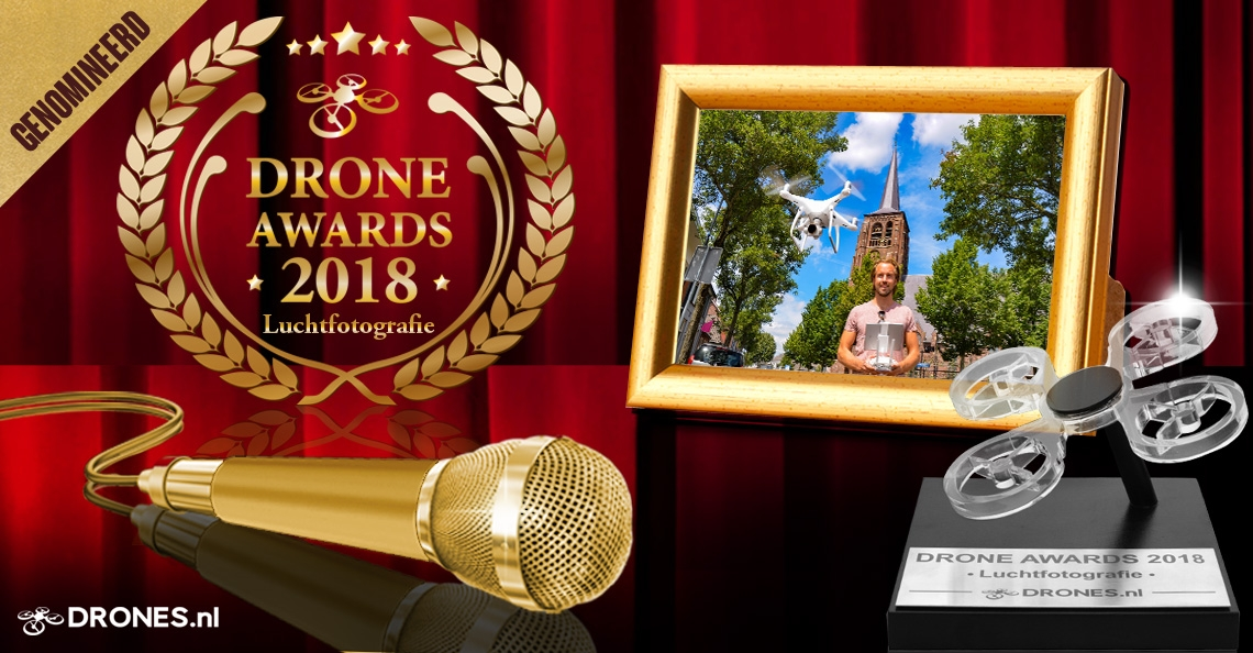 Jelte Keur over zijn Drone Awards 2018 nominatie