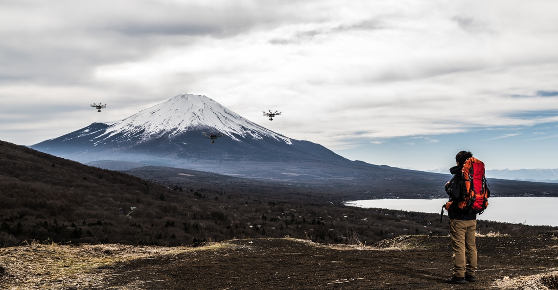 Japanse telecomprovider start search and rescue missies op mount Fuji
