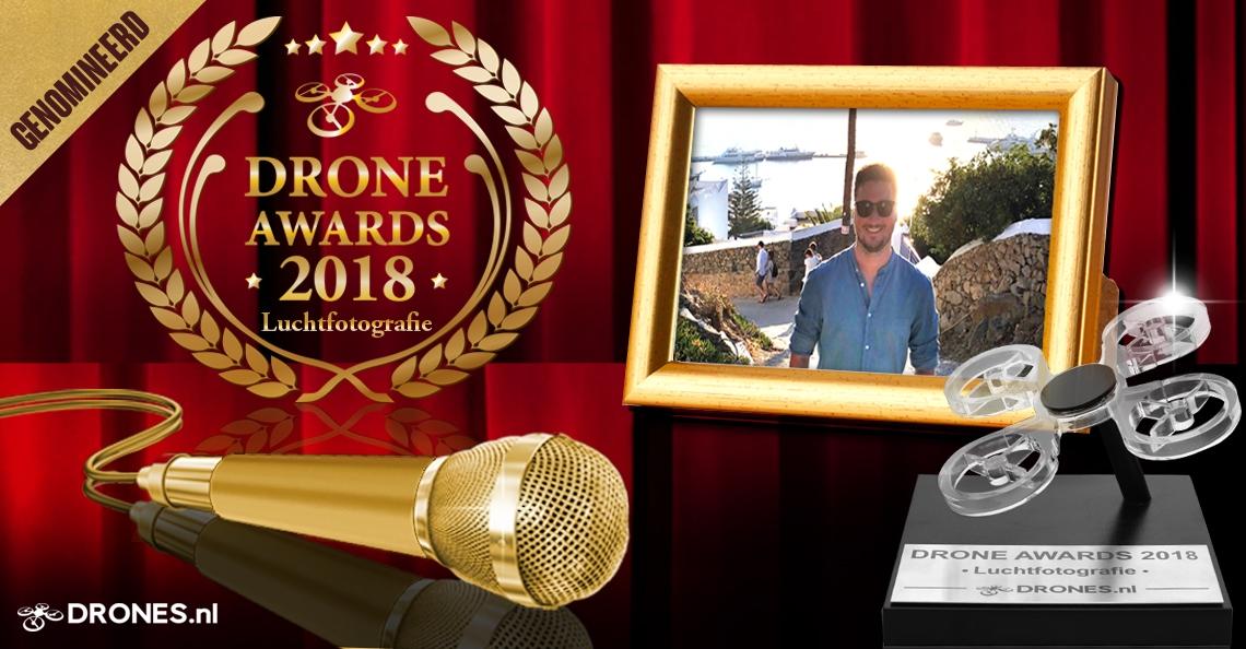 Droning Dutchman over zijn Drone Awards 2018 nominatie