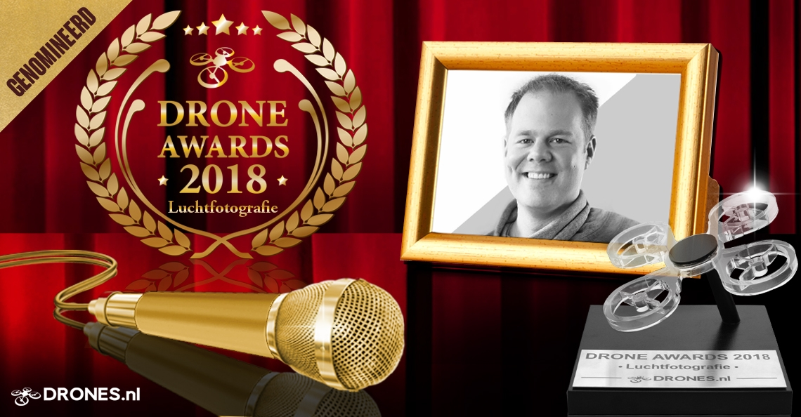 Sander Coppens over zijn Drone Awards 2018 nominatie