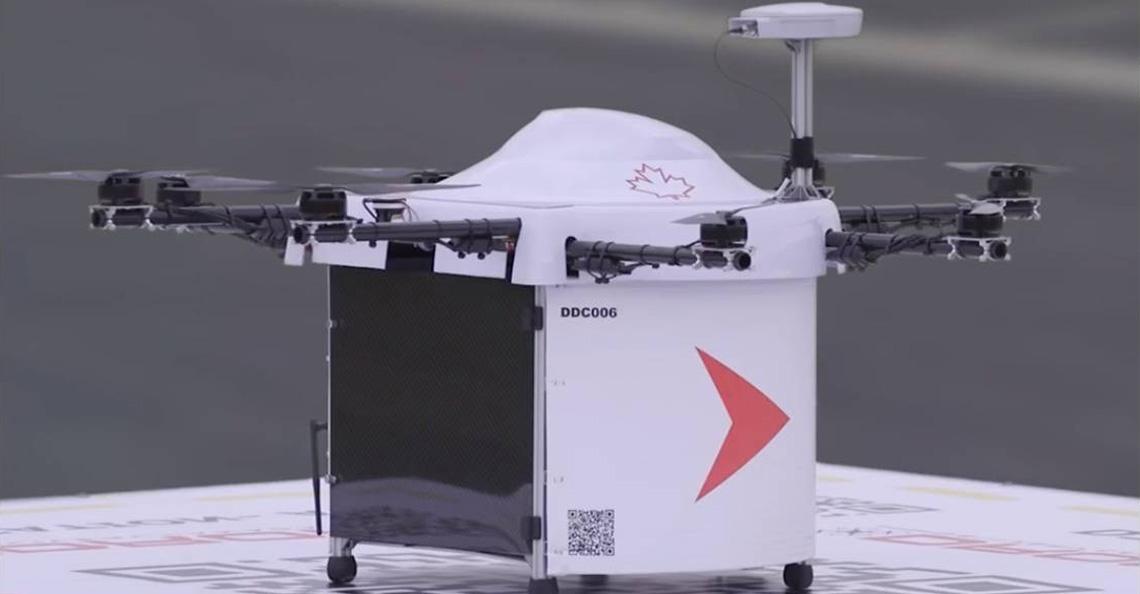 Canadees eiland vanaf volgend voorjaar bevoorraad door drones