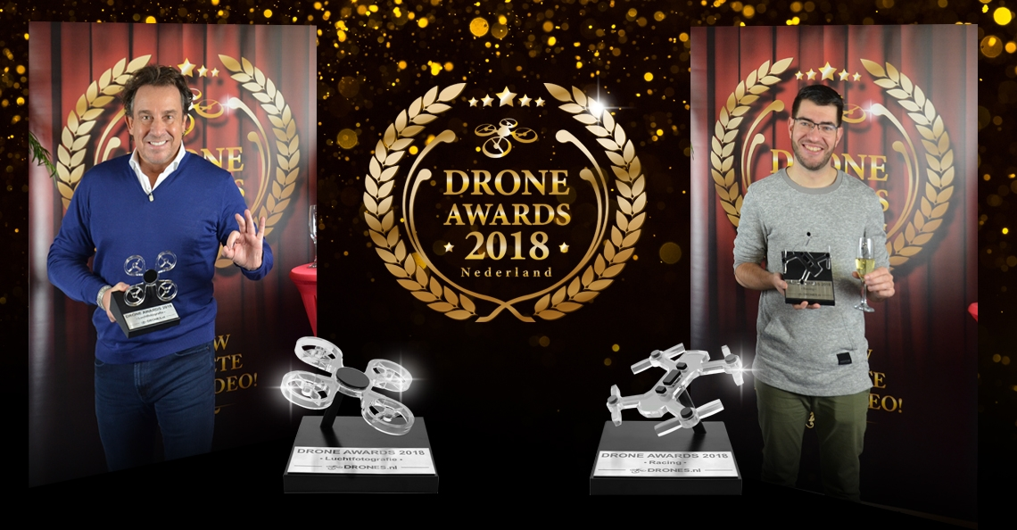 Winnaars Drone Awards 2018 bekend!