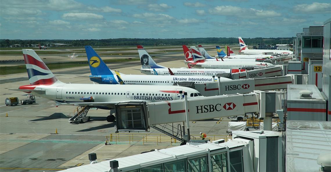 Tot twee maal toe drones gespot boven London Gatwick Airport