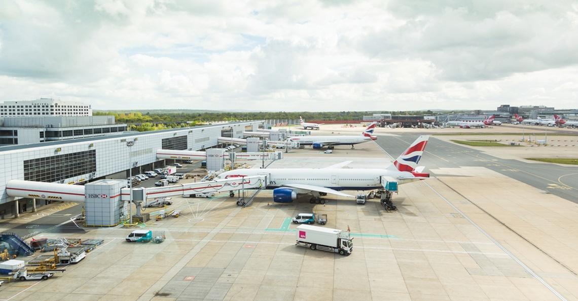 Gevonden drones bij Gatwick luchthaven van politie zelf