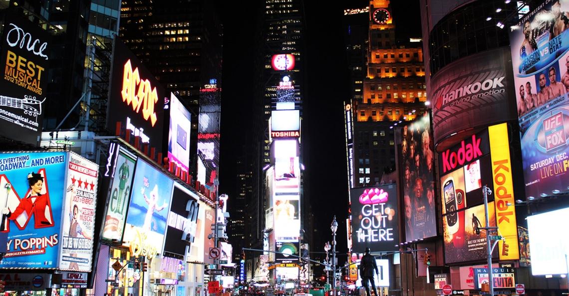 Politie gebruikt drone tijdens jaarwisseling op Times Square in New York