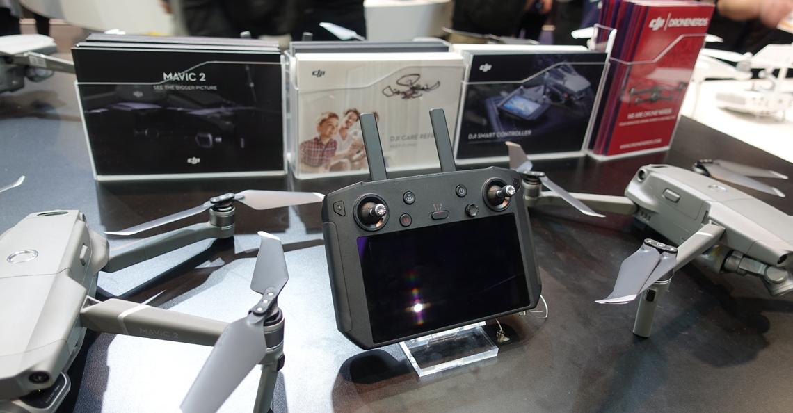 DJI presenteert smart controller tijdens CES Las Vegas