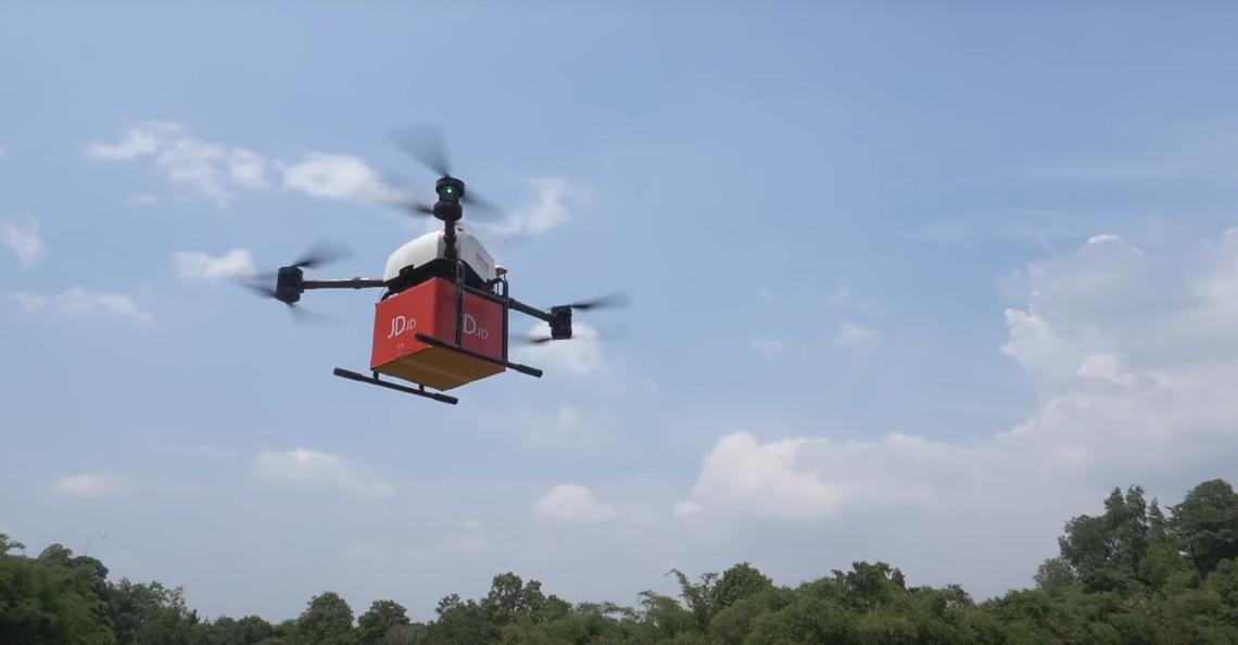 JD.com voert eerste dronebezorging uit in Indonesië
