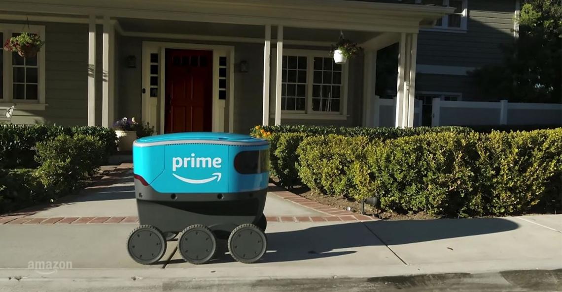 Amazon test bezorgrobots in buitenwijk Seattle