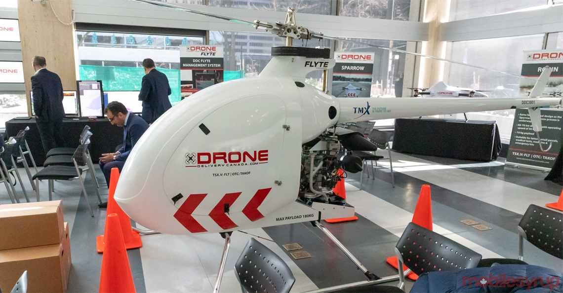 Drone Delivery Canada presenteert grote bezorgdrone Condor