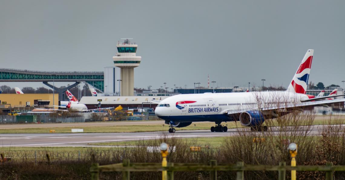Drone-vluchten Gatwick Airport mogelijk uitgevoerd door medewerker