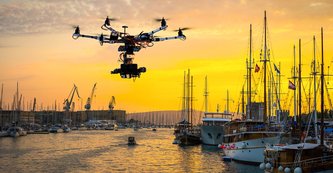 Kustwacht Blankenberge krijgt drone ter beschikking