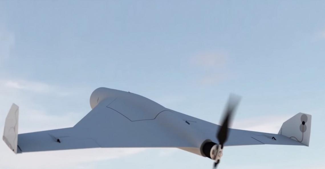 Kalasjnikov onthult kamikaze-drone tijdens IDEX wapenbeurs