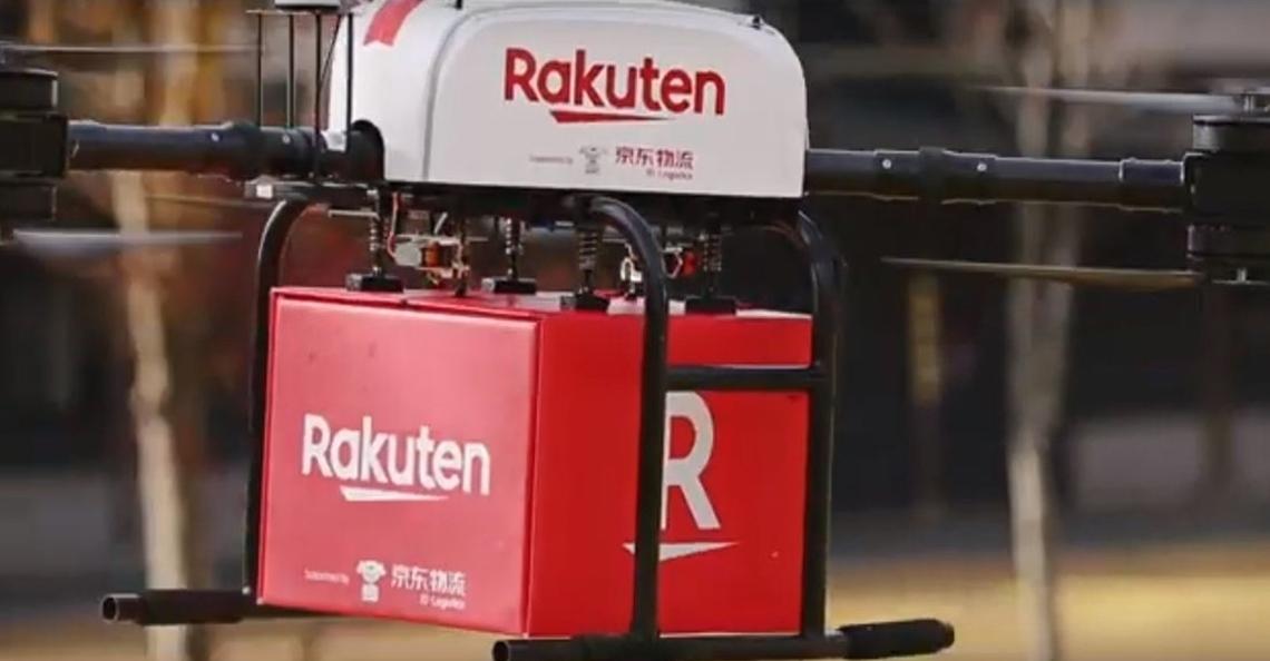 Rakuten en JD.com werken samen aan uitbreiding dronebezorging in Japan