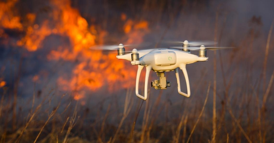 Drones hinderen blusvliegtuigen bij bosbrand in Australië