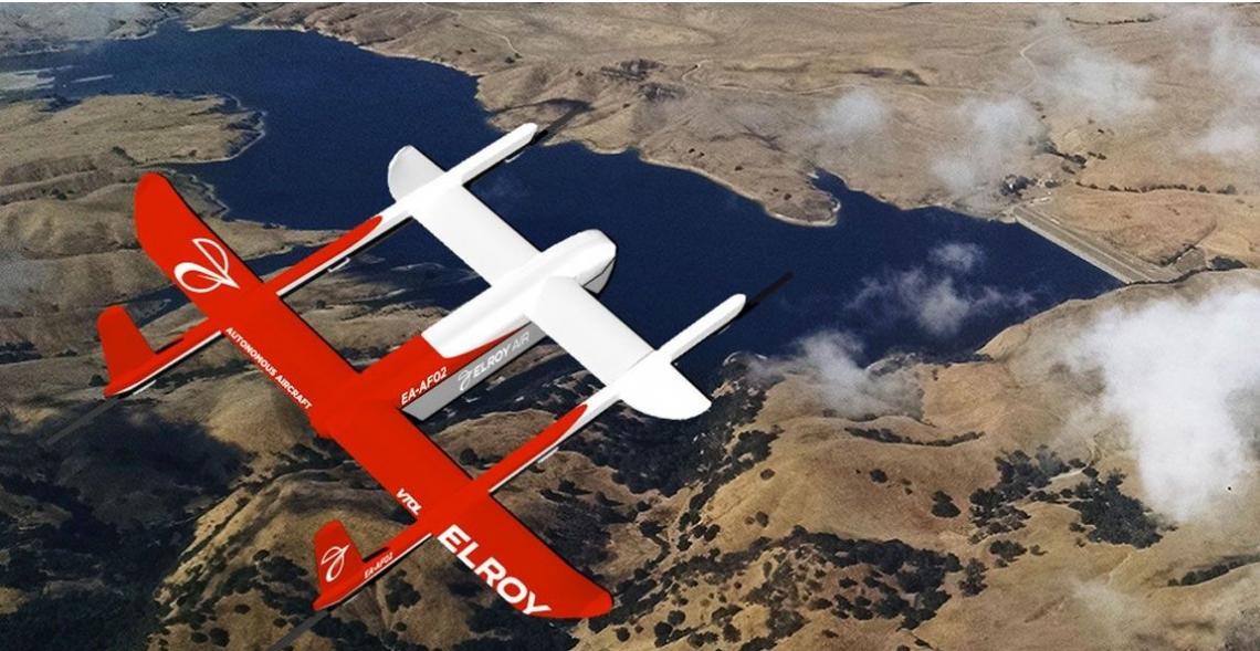 Elroy Air ontwikkelt drone die grotere vrachten kan vervoeren
