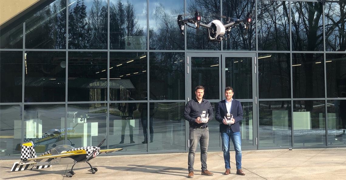 Space53 Twente gaat experimentele dronevluchten uitvoeren op locatie