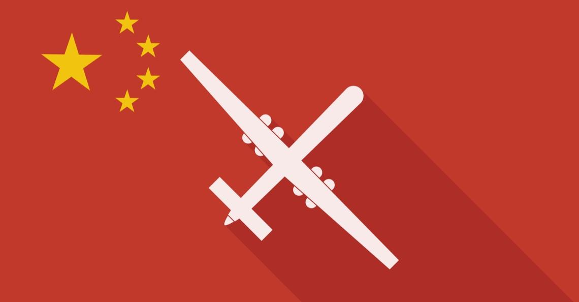 China's nieuwe LQ-H drone vliegt grotendeels op waterstofbatterij