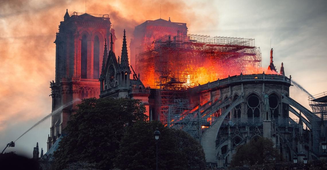 Drones van DJI droegen bij aan blusoperatie Notre Dame