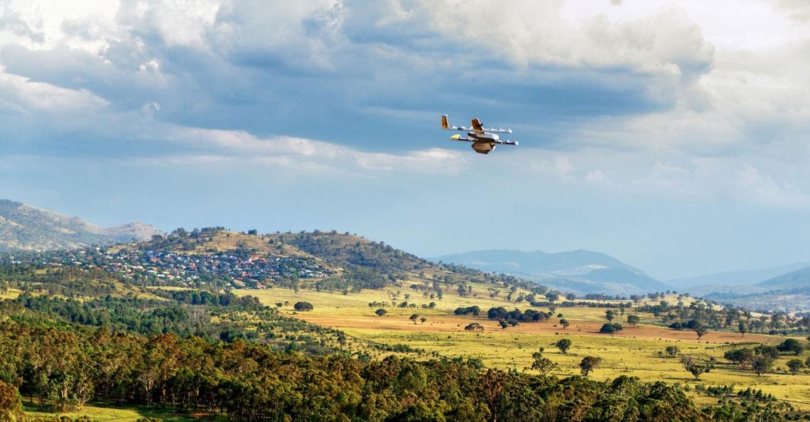 FAA geeft Wing toestemming voor dronebezorgingen in Virginia, VS