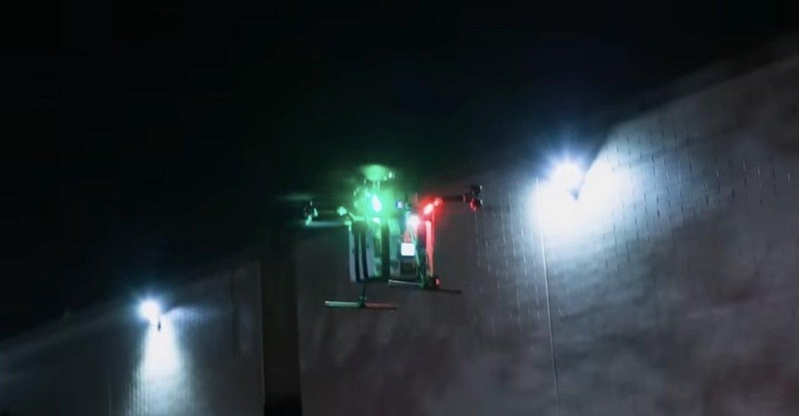 Eerste geslaagde drone-transportatie van nier een feit