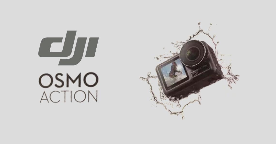 DJI kondigt nieuwe actiecamera 'OSMO Action' aan op 15 mei 2019
