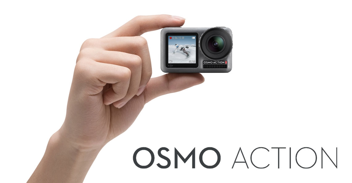 DJI presenteert actiecamera OSMO Action
