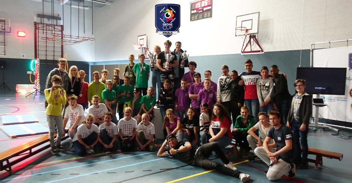 VeenLanden College uit Mijdrecht grote winnaar Drone Cup Finals 2019