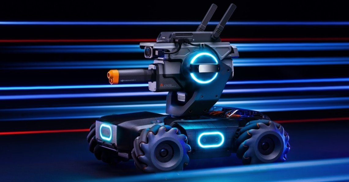 DJI introduceert op afstand bestuurbaar voertuig RoboMaster S1