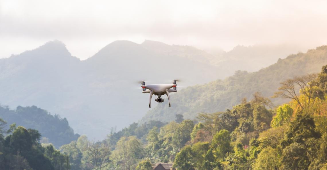 Spaanse universiteit zet speciale drones in voor bestrijding bosbranden