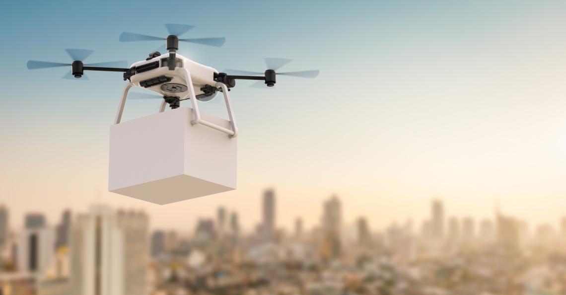 Maleisische stad test voedselbezorging per drone