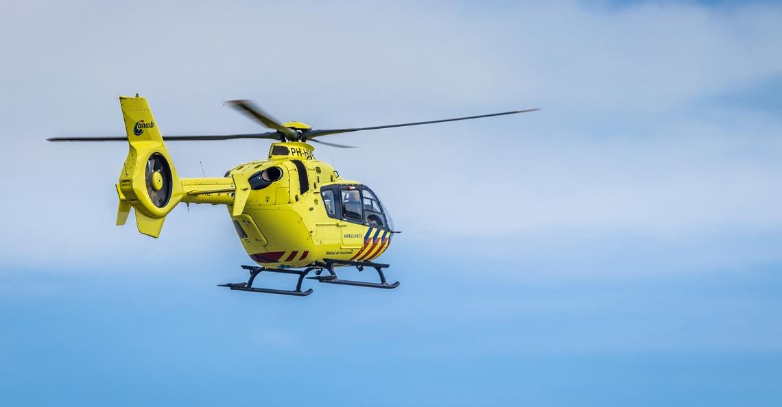 Traumahelikopter gehinderd door roekeloze dronepiloot in Enschede