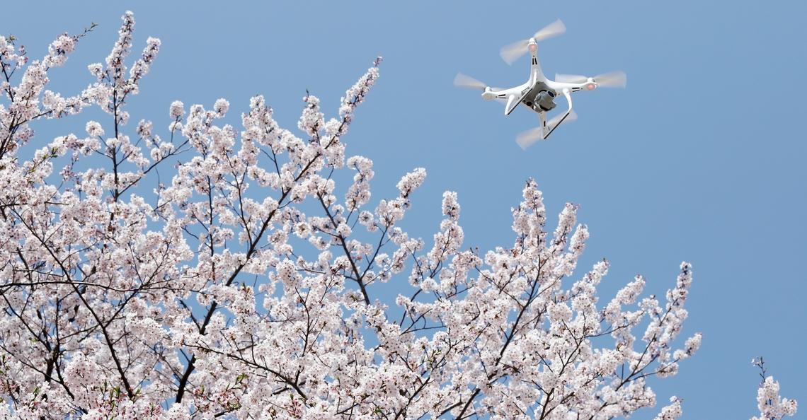 Realtime 4K video verzonden vanaf drone door Japanse onderzoekers