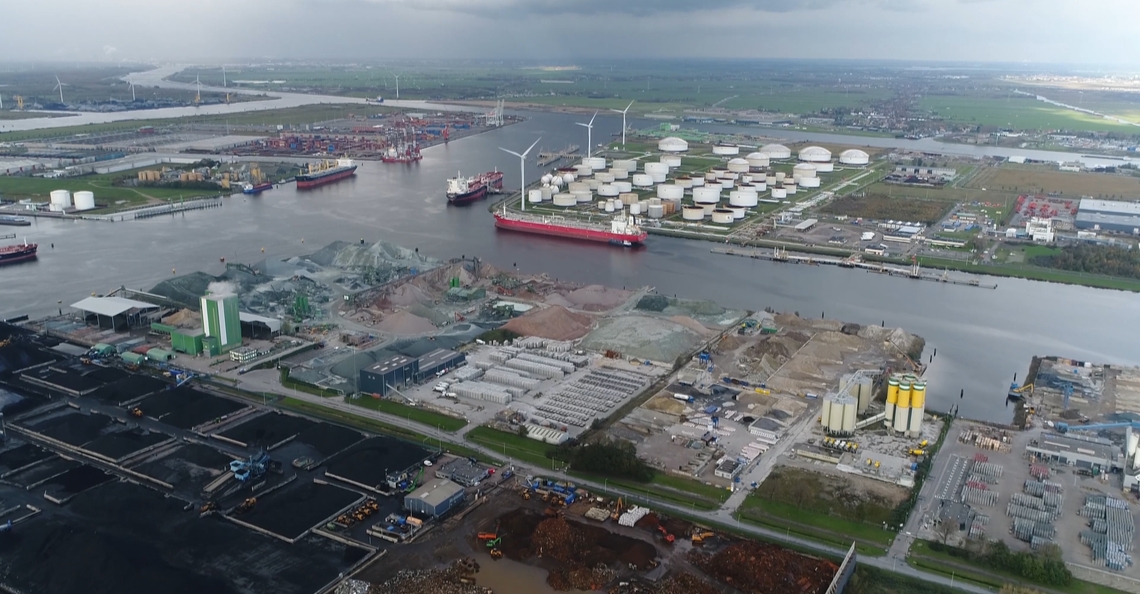 Port of Amsterdam wil varende drones testen