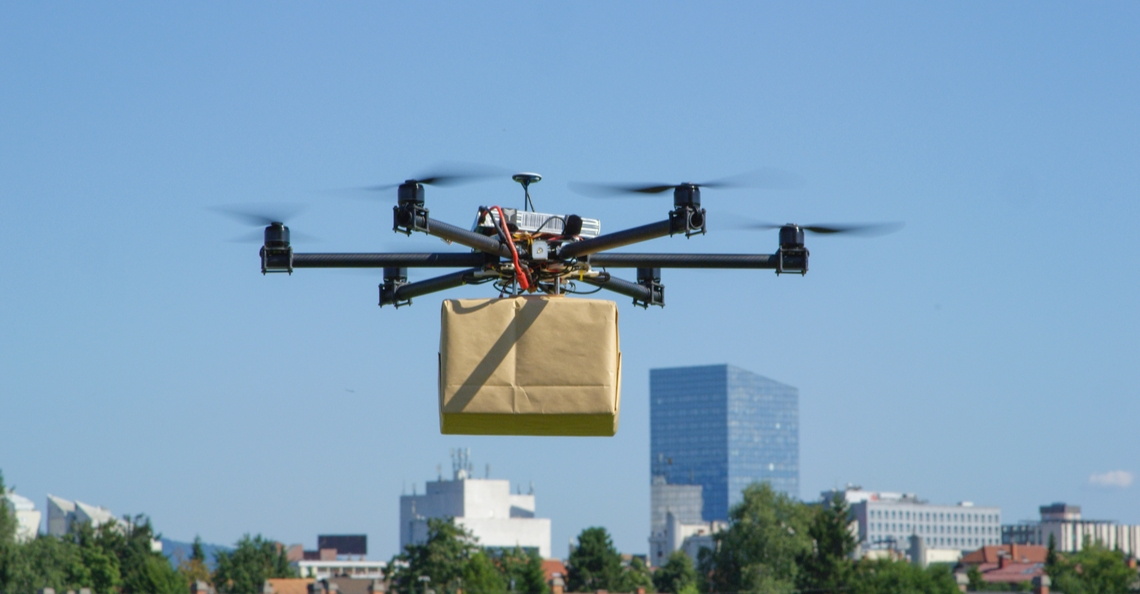 UPS investeert in dronebezorging met Flight Forward-onderneming