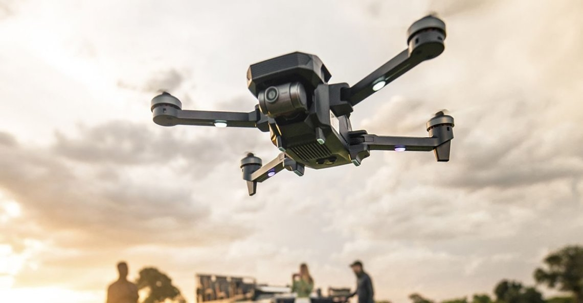 Yuneec introduceert Mantis G met superstabiele mechanische gimbal