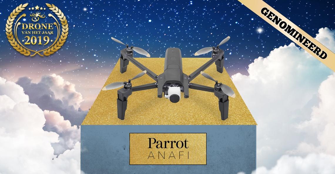 Drone van het Jaar 2019 nominatie: Parrot ANAFI