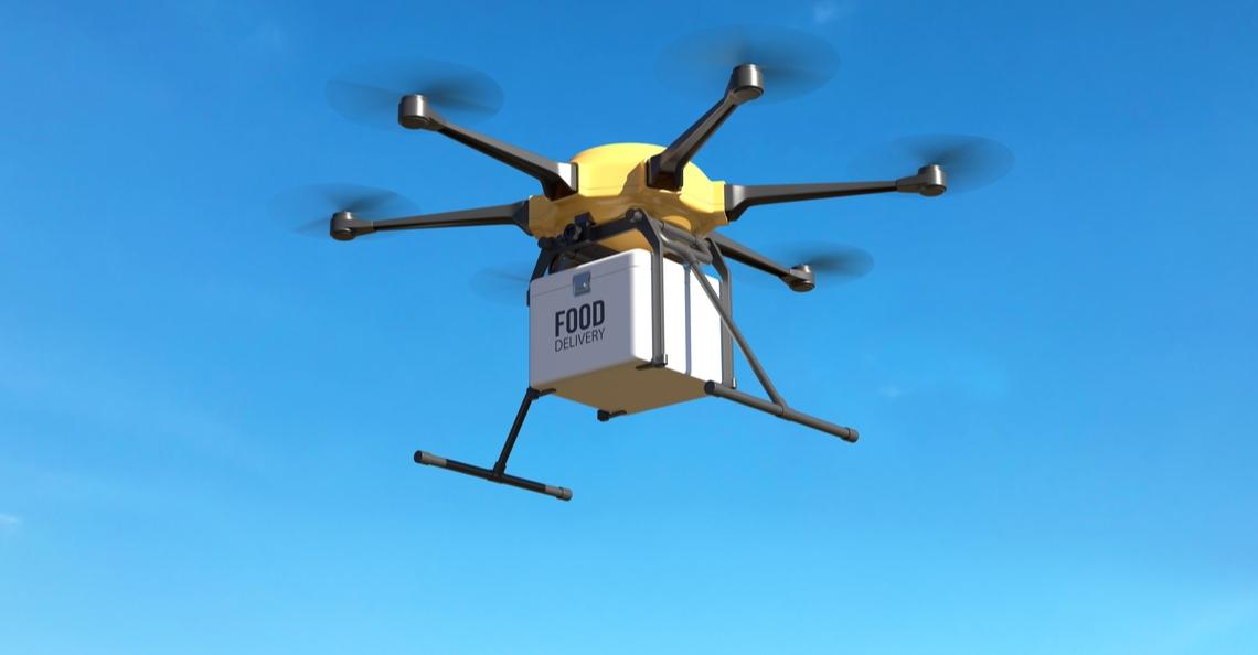 KFC gaat kip bezorgen met drones in China
