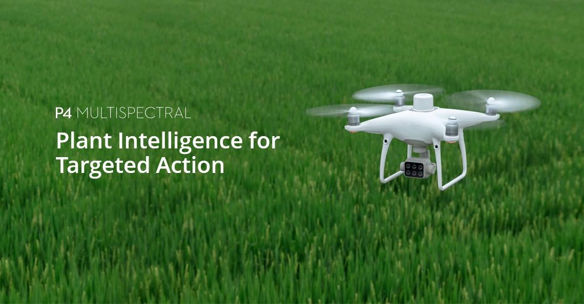 DJI introduceert nieuwe Phantom 4 Multispectral; gericht op agrarische sector