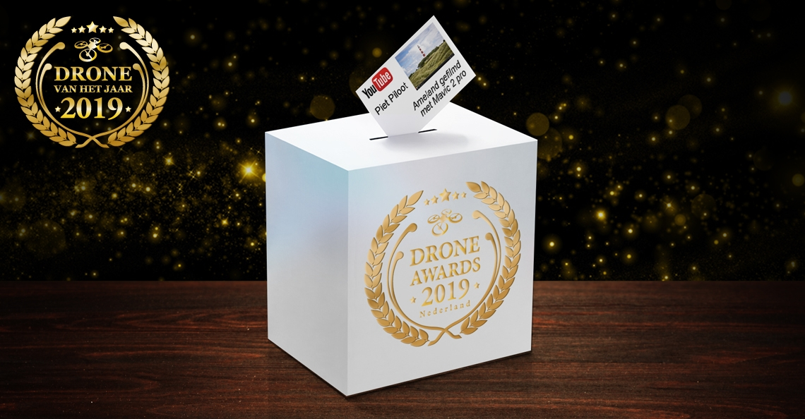 Stuur nu je dronevideo in voor de Drone Awards 2019!