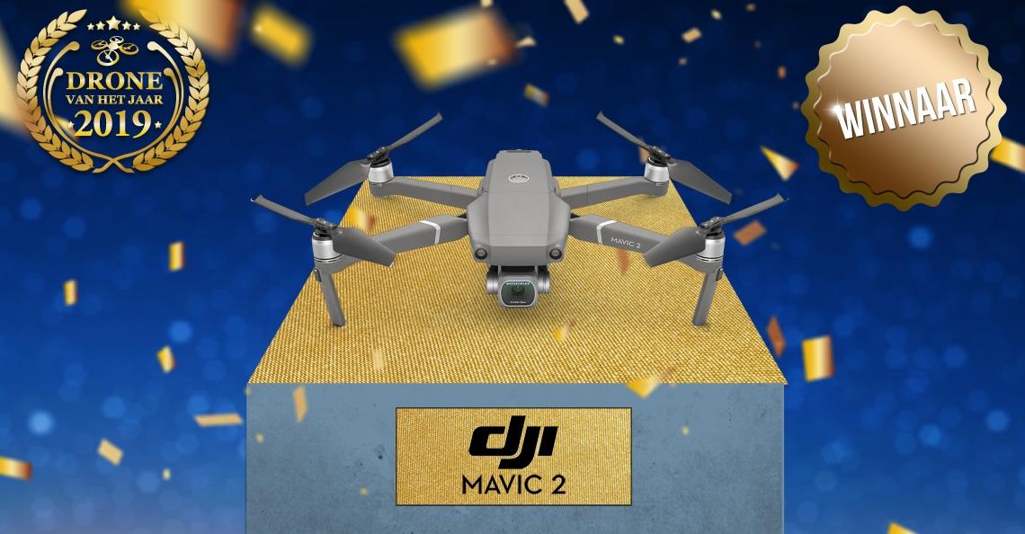 DJI Mavic 2 verkozen tot Drone van het Jaar 2019
