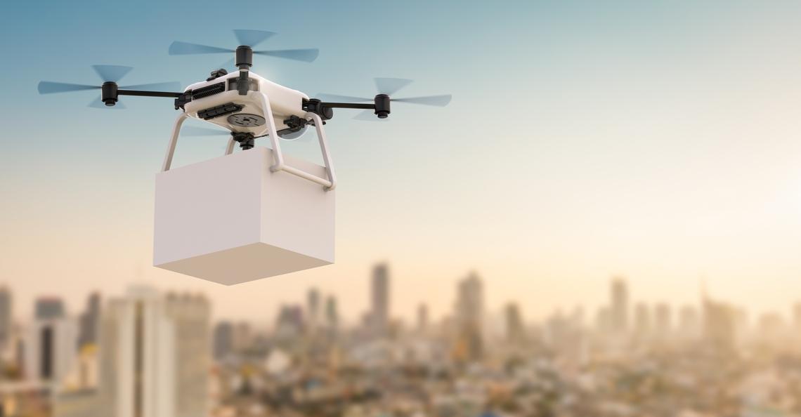 UPS krijgt toestemming om in complete VS met drones bezorgen