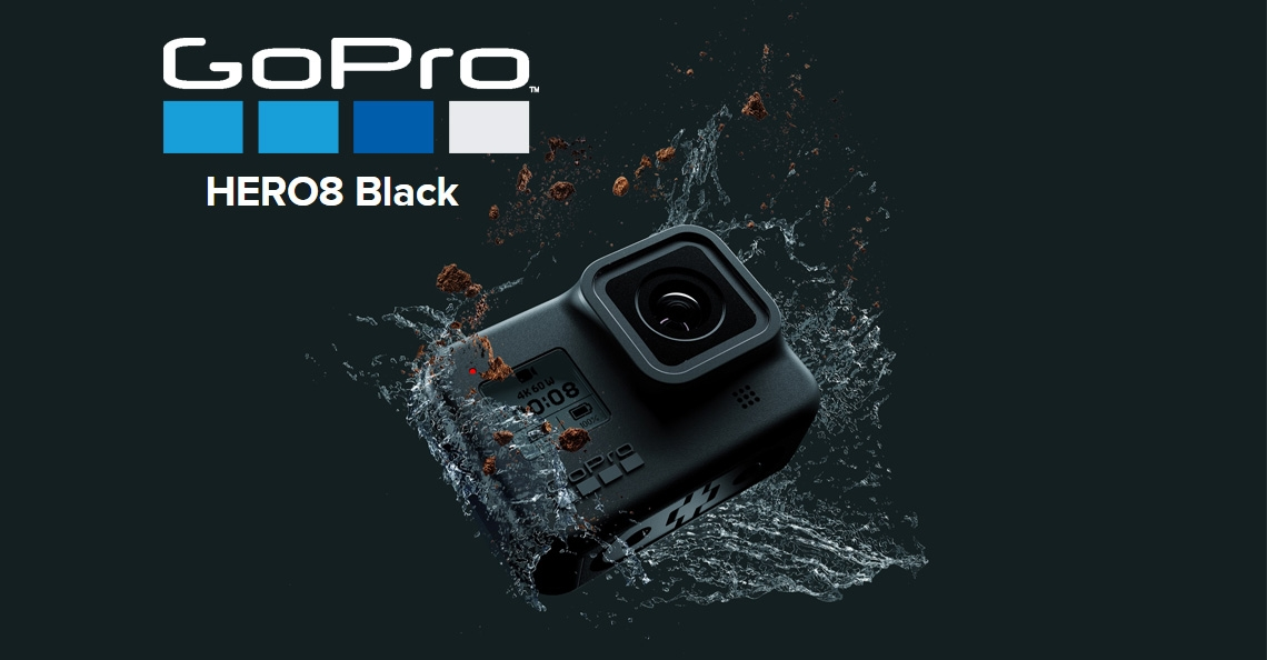 GoPro presenteert HERO8 Black actiecamera