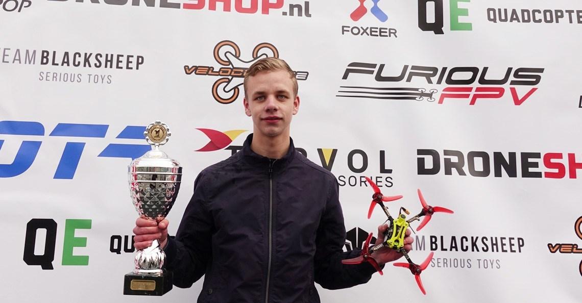 Dennis Mennema (DroneDFPV) is Nederlands Kampioen Drone Race 2019