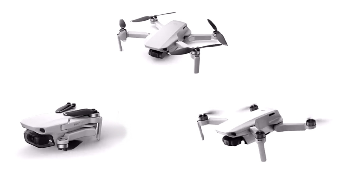 DJI presenteert Mavic Mini drone op 30 oktober 2019